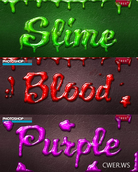 Slime Style for Photoshop