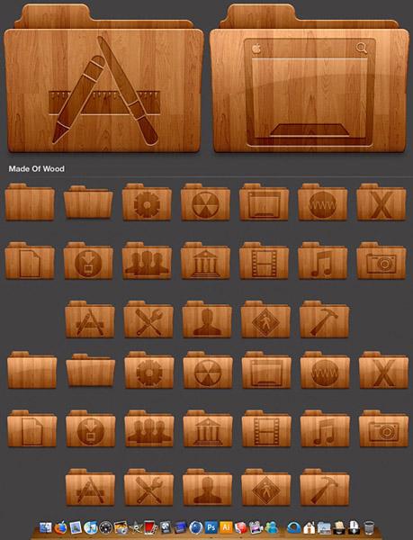 Деревянные иконки