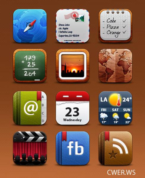 Коллекция иконок для iPhone