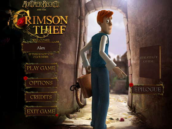 картинка к игре Mortimer Beckett and the Crimson Thief