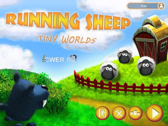 скриншот игры Running Sheep: Tiny Worlds