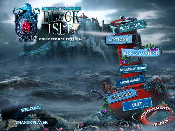 скриншот игры Mystery Trackers 3: Black Isle Collector's Edition