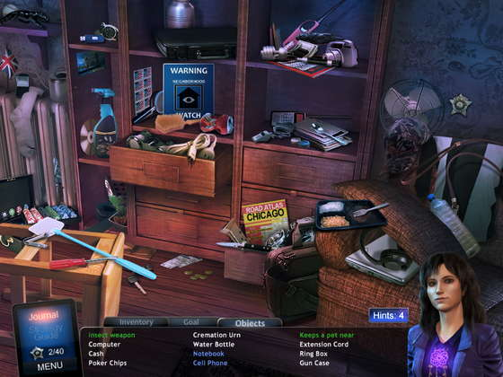 скриншот игры Angelica Weaver: Catch Me When You Can Collector's Edition