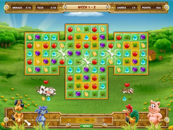 скриншот игры Farm Quest