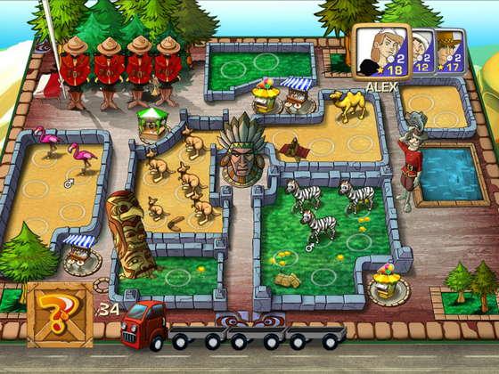 скриншот игры Зоолоретто / Zooloretto