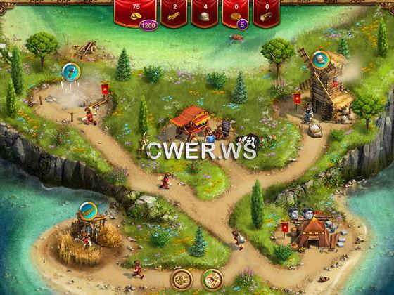 скриншот игры Однажды в Риме.