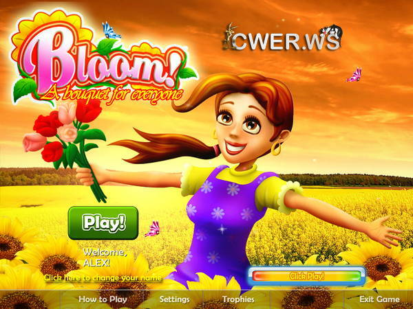 скриншот игры Bloom! A Bouquet for Everyone