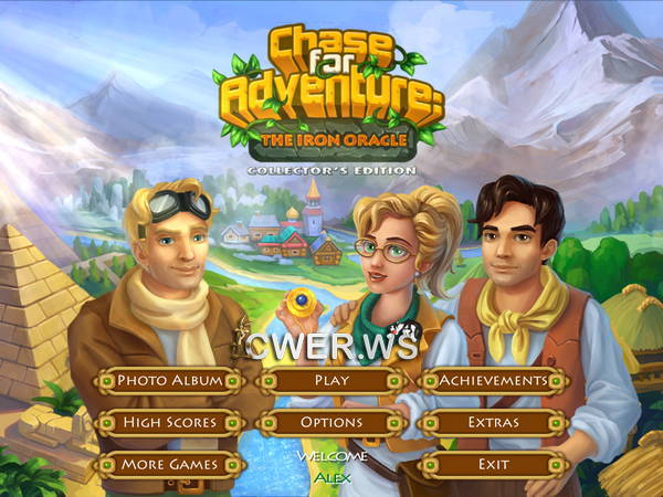 скриншот игры Chase for Adventure 2: The Iron Oracle Collector's Edition