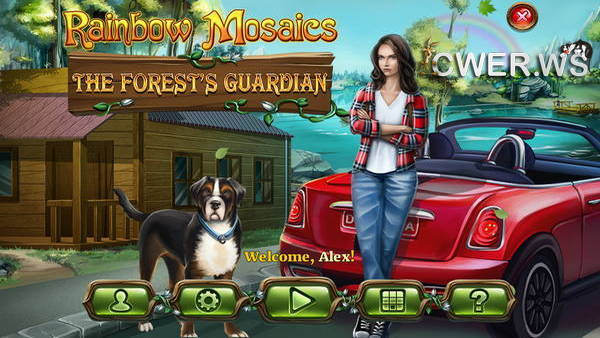 скриншот игры Rainbow Mosaics 6: The Forest's Guardian