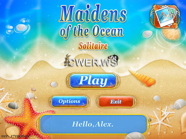 скриншот игры Maidens of the Ocean Solitaire