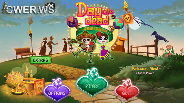 скриншот игры Day of the Dead: Solitaire Collection