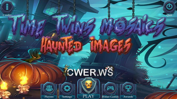 скриншот игры Time Twins Mosaics 2: Haunted Images
