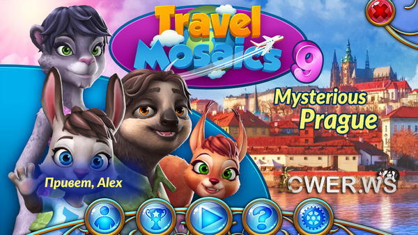 скриншот игры Travel Mosaics 9: Mysterious Prague
