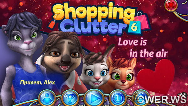 скриншот игры Shopping Clutter 6: Love is in the Air