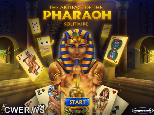 скриншот игры The Artifact of the Pharaoh Solitaire