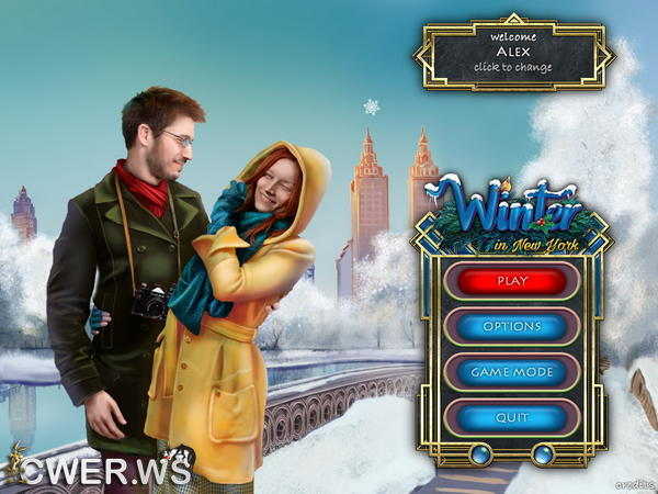 скриншот игры Four Seasons Around the World: Winter in New York