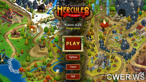 скриншот игры The Chronicles of Hercules: The 12 Labours