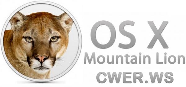 Mac OS X 00.8 Mountain Lion