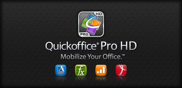 Quickoffice pro для андроид скачать
