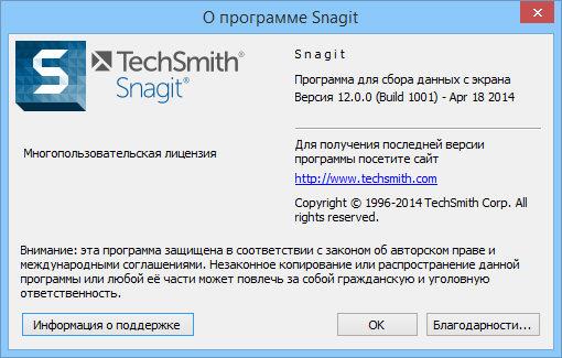 TechSmith Snagit 12