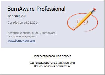 BurnAware 7.0