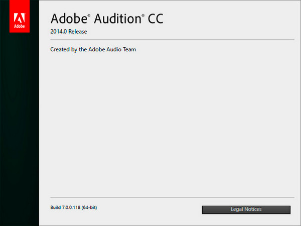 Adobe Audition CC 7