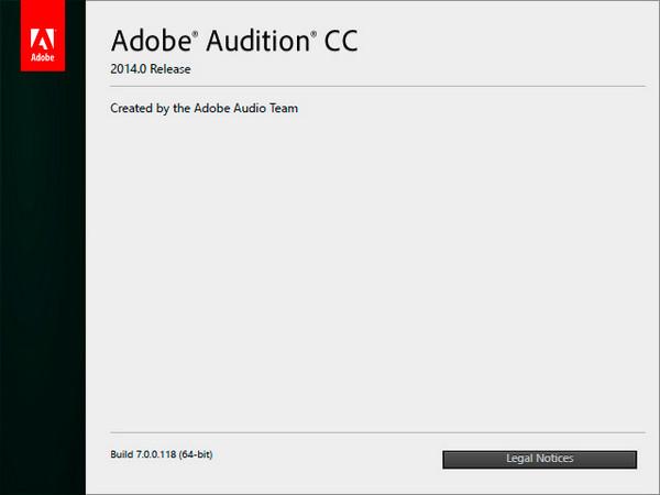 Adobe Audition CC 7