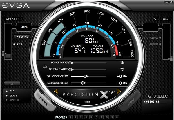 EVGA Precision X 5.2.2