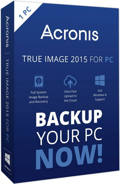 Acronis True Image 2015 18 Build 6613 + BootCD + Media Add-ons