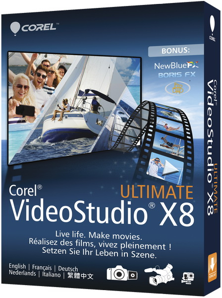 Corel VideoStudio X8 18.0.0.181 Ultimate + Content
