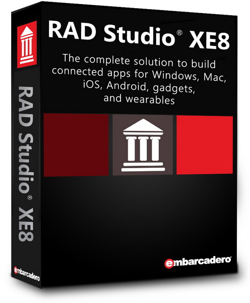 Embarcadero RAD Studio XE8 Architect 22.0.19027.8951.
