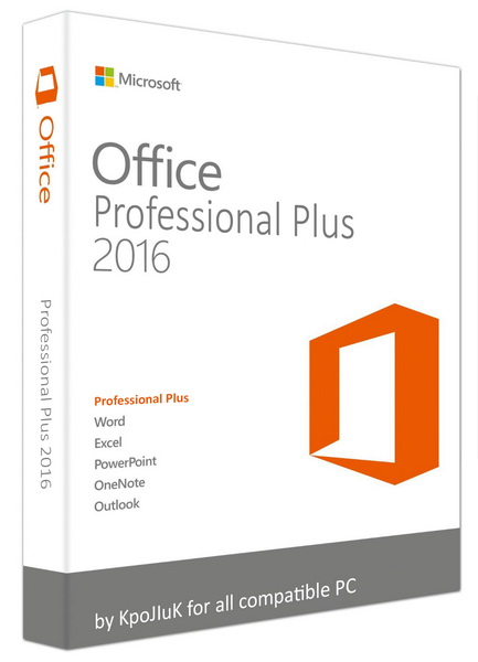 Microsoft Office 2016 Professional Plus + Visio Pro + Project Pro / Standard 16.0.4300.1000