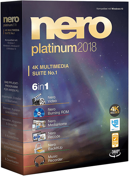 Nero Platinum 2018 Suite 19.0.10200