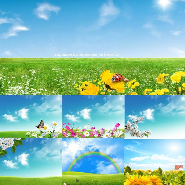 Весенние и летние пейзажи