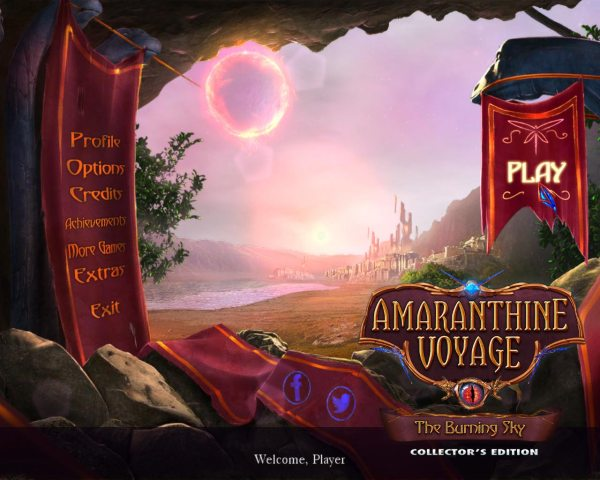 Amaranthine Voyage 8: The Burning Sky Collectors Edition