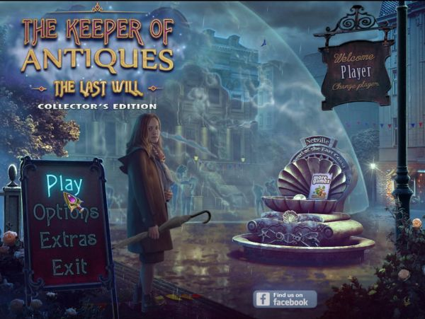 The Keeper of Antiques 3: The Last Will Collector's Edition