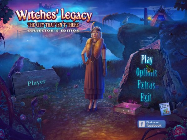 Witches Legacy 9: The City That Isnt There Collectors Edition