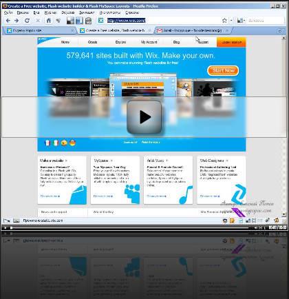 Сайт на флеш как сделать