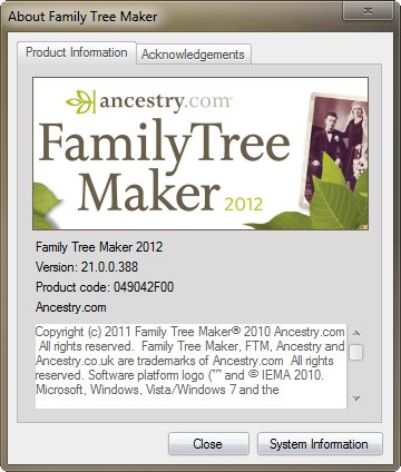 Family Tree Maker 2012 v21.0.0.388