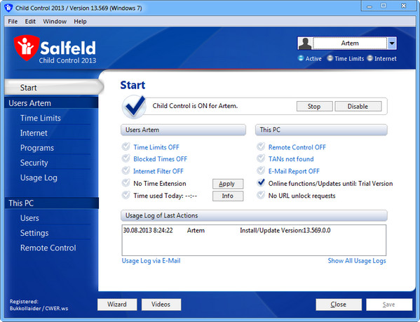 Salfeld Child Control 2013 v13.569