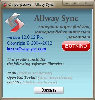 Allway Sync Pro Код Активации - фото 8