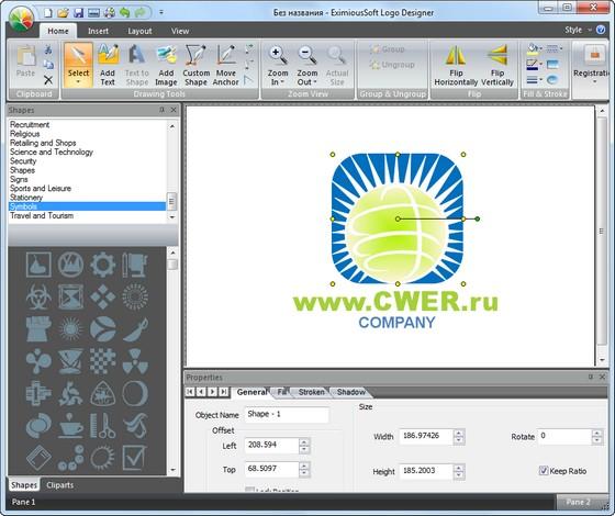программа для рисования логотипов: