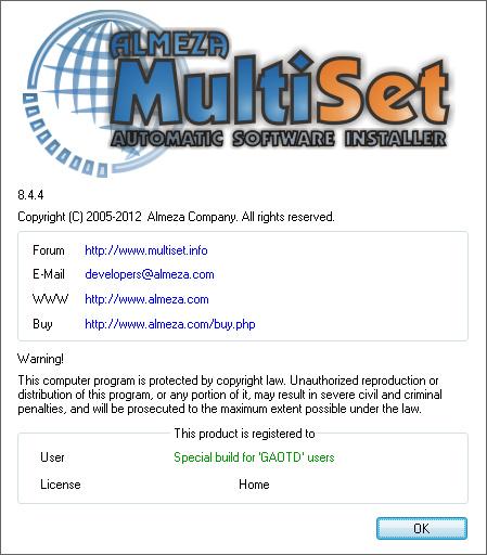 Almeza MultiSet Professional 8
