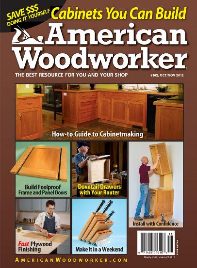 American Woodworker №162 (October-November 2012)