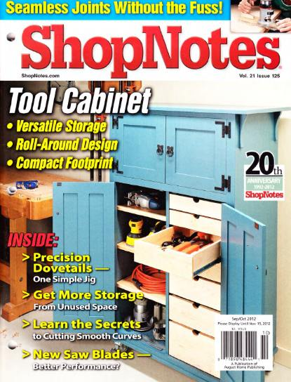 ShopNotes №125 (September-October 2012)