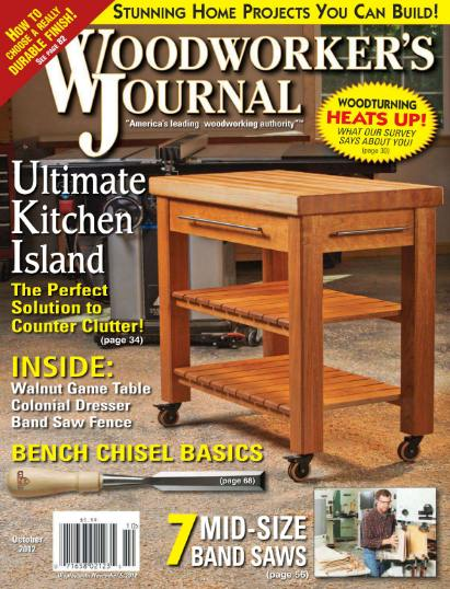 Woodworker's Journal №5 (October 2012)