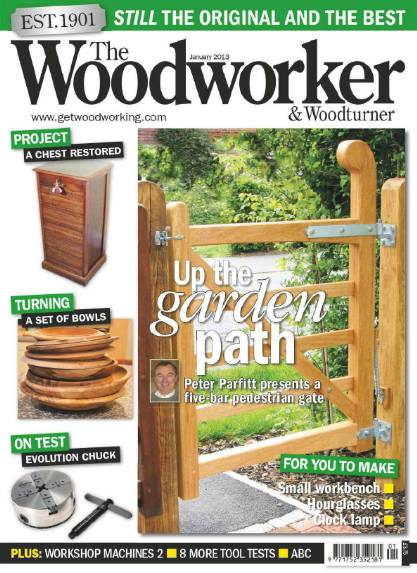 The Woodworker & Woodturner №1 (January 2013)