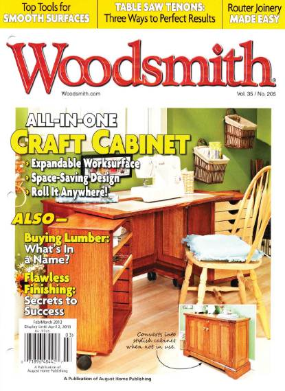 Woodsmith №205 (February-March 2013)