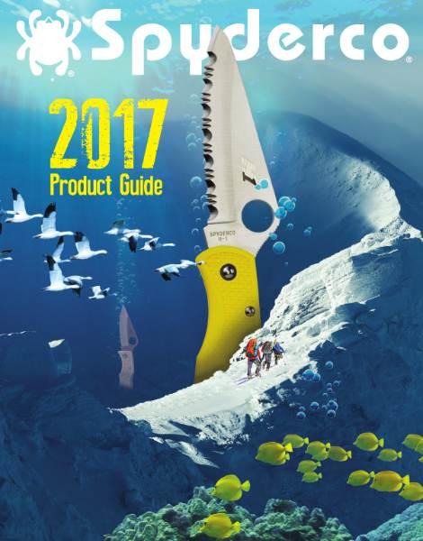 Каталог ножей Spyderco (2017)