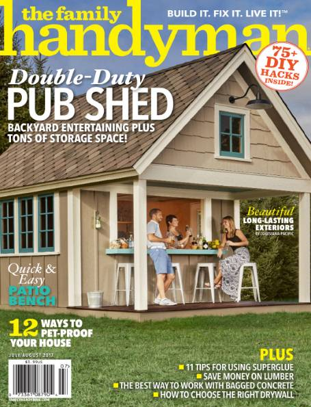 The Family Handyman №7 (July-August 2017)